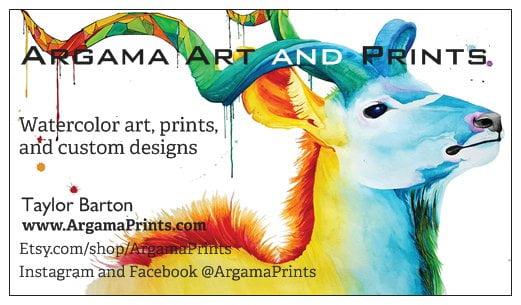 Argama Art & Prints Logo
