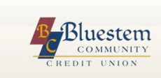 Bluestem Credit Union Logo